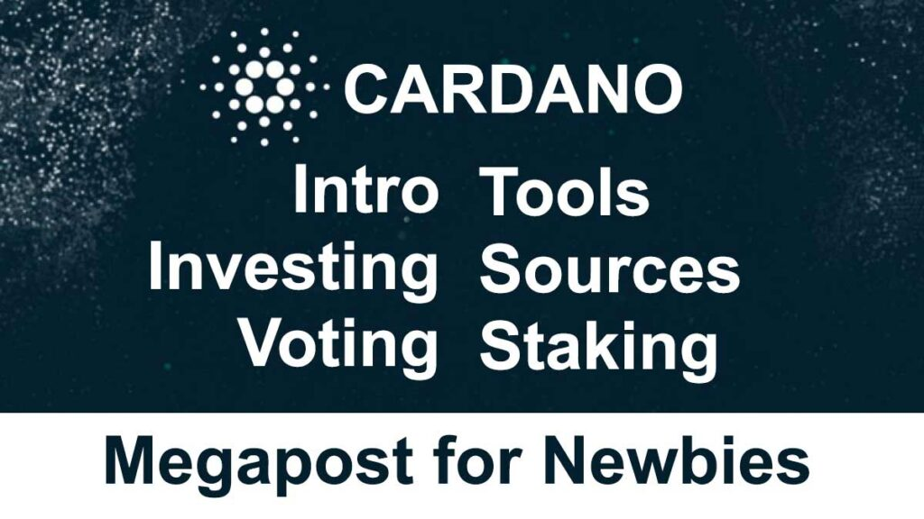New to Cardano? The Cardano Intro for Newbies